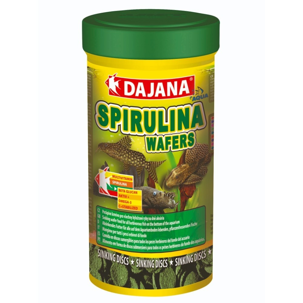 DP Spirulina wafers 100ml