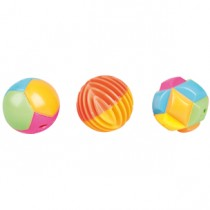 CT PLASTIC CAT BALL 3 PCS