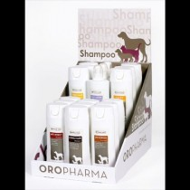 Orop Shampoo display