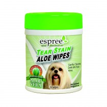 Espree Tear Stain Wipes x60